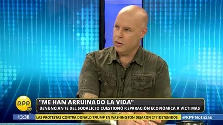"""José Enrique Escardó sobre el Sodalicio: """"Me han arruinado la vida"""""""
