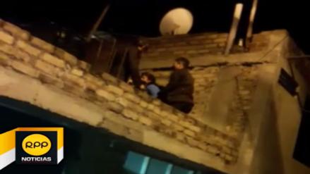 Cajamarca: policía rescata a mujer secuestrada por su pareja