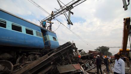 Una nueva tragedia ferroviaria causó 39 muertos y 50 heridos en la India
