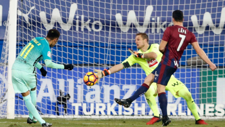 La frialdad de Neymar para sellar el triunfo del Barcelona al minuto 90
