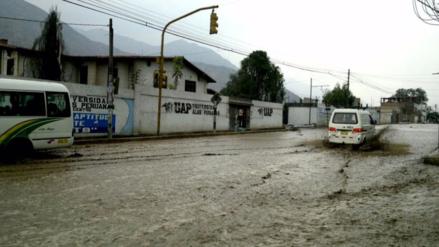 Un nuevo huaico interrumpe el tránsito en Chaclacayo