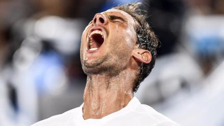 Rafael Nadal sigue imparable en el Abierto de Australia