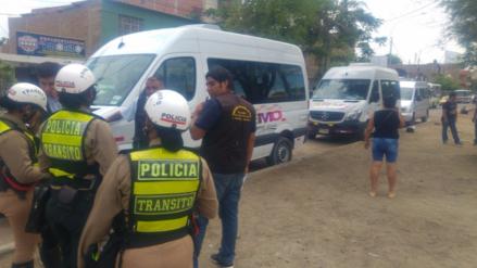 Municipalidad de Piura sanciona a transportistas con paraderos informales