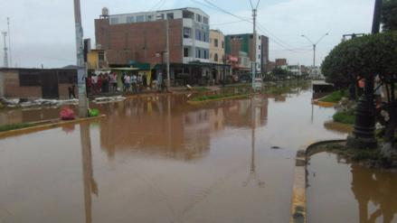Huaicos en Cañete y Chincha inundaron viviendas y cultivos