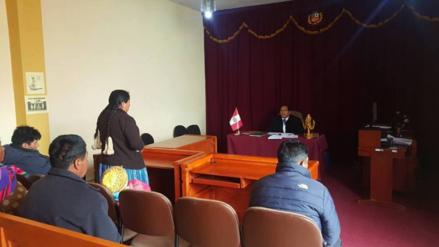 Resuelven más de 70 casos en maratón de audiencias en juzgado de Ilave