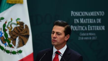 Enrique Peña Nieto a Donald Trump: