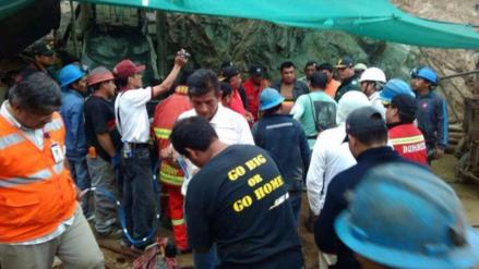 Suspenden rescate de los seis mineros de Acarí por fuertes lluvias