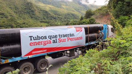 Tamayo: Mañana se terminará el contrato del Gasoducto Sur Peruano