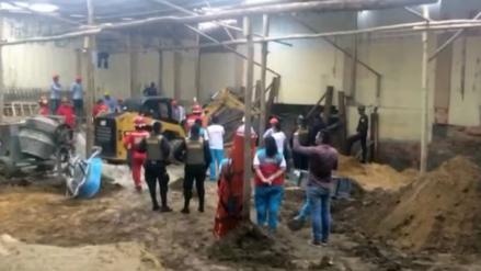 Obrero muere aplastado por una pared en Iquitos