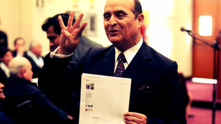 Vladimiro Montesinos escribió su séptimo libro sobre Chavín de Huántar