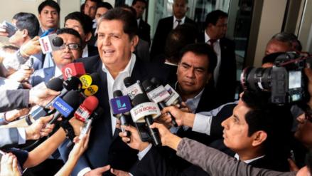 """Alan García: """"No me mezclen en sobornos y coimas de gente sin moral"""""""