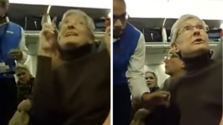 Mujer es expulsada de un avión por insultar a un seguidor de Donald Trump