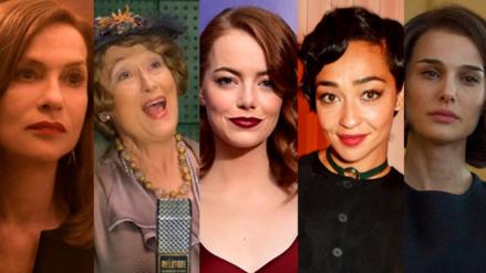 Premios Oscar: Meryl Streep y Emma Stone entre las candidatas a Mejor Actriz