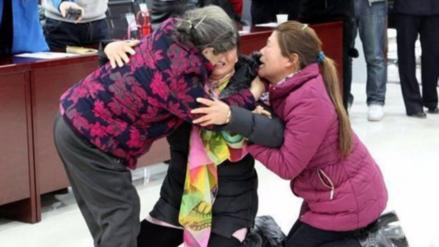 Fueron secuestradas y vendidas, 28 años después logran reunirse con su madre
