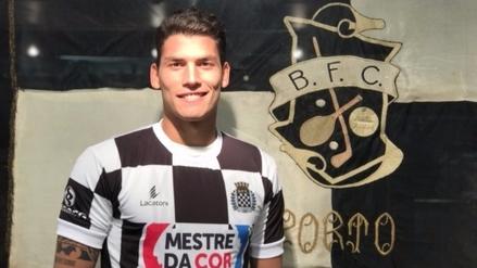 Iván Bulos es nuevo jugador de Boavista de Portugal