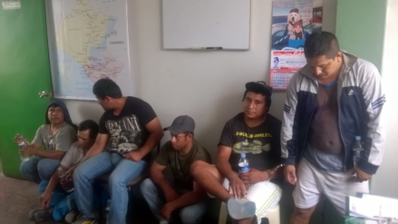 Detienen a siete miembros de construcción civil en Olmos