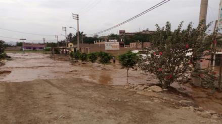 Desborde del río Chancay afectó cuarenta casas y carretera Huaral- Acos