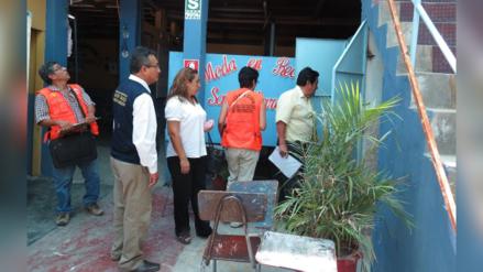 Defensa Civil: en febrero iniciarán operativos en colegios de Trujillo