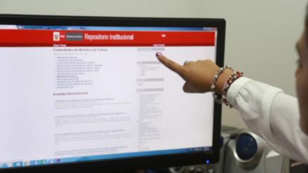 Ministerio de Cultura rescata colección de libros y la difunde en la web