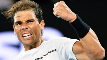 Rafael Nadal se metió a las semifinales del Abierto de Australia