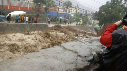 Video | Nuevos huaicos cayeron en Chaclacayo y Chosica