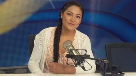 Magaly Solier se siente afortunada por nombramiento de la Unesco