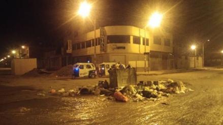 Juliaca estropeada por fuertes lluvias y acumulación de basura