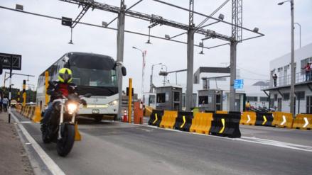 Municipio de La Molina exige retiro de peaje en avenida Separadora Industrial