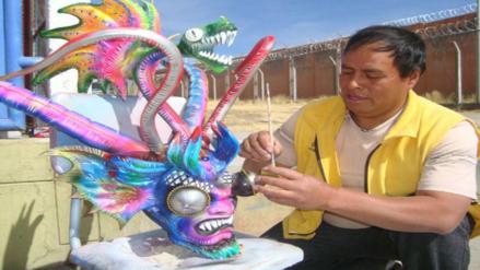 Trajes de luces elaborados por reclusos de penal de Puno atraen a empresarios
