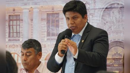 Congresista Marvin Palma presentará iniciativa en beneficio de fiscales provisionales