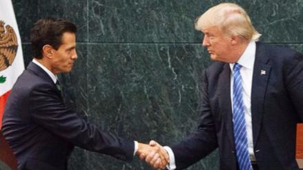 Trump habló con Peña Nieto por teléfono:
