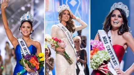 Fotos | Recuerda a las últimas 10 ganadoras del Miss Universo