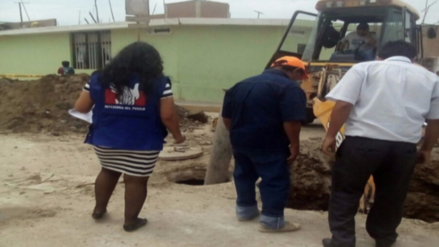 Intensas lluvias ocasionan colapso de sistema de desagüe en Yarabamba