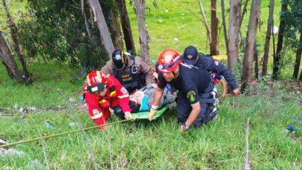 Huancayo: autoridades realizan simulacro de colapso de puente