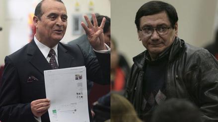 Montesinos y Martin Rivas se encontraron en el juicio del caso Mariela Barreto