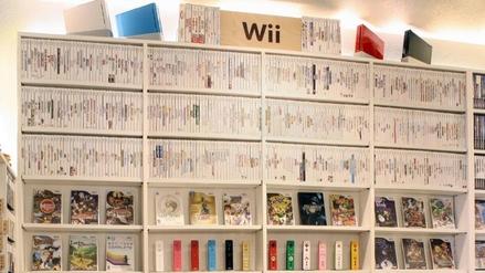 Un fanático de Nintendo compró todos los videojuegos de Wii