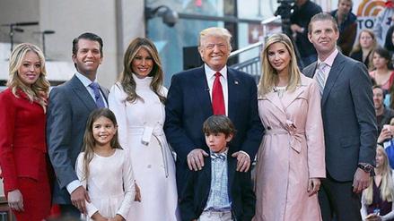 Fotos | La familia Trump y su primera semana en la Casa Blanca