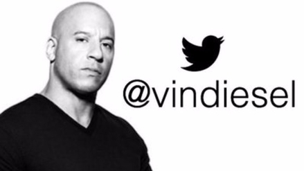 Vin Diesel se une al Twitter y es tendencia
