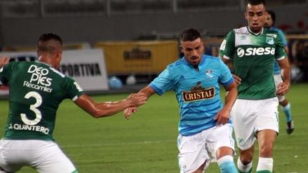 Sporting Cristal venció 1-0 Cali en la 'Noche de la Raza Celeste'