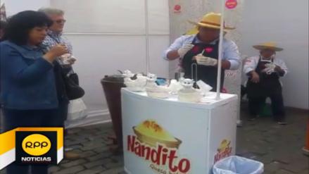 Se lleva a cabo el quinto festival del queso helado en Arequipa