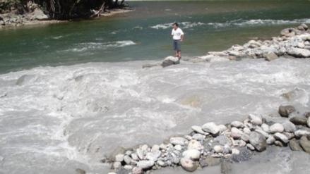 Alertan a pobladores de Tarma ante incremento de caudal del río