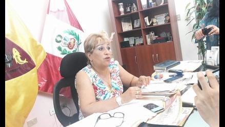 Alcaldesa califica de irrelevante pedido de suspensión en su contra