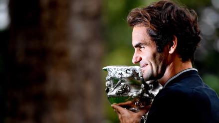 Roger Federer regresó al top 10 mundial tras ganar el Abierto de Australia
