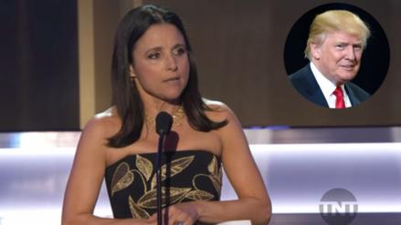 La actriz Julia Louis Dreyfus y su discurso contra Donald Trump