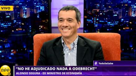 """Alonso Segura: """"Yo soy el padre del destrabe de inversión"""""""