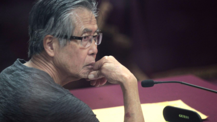 Alberto Fujimori está internado en una clínica por problemas en la columna