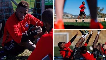 Selección Peruana: así fue la primera práctica de Jefferson Farfán con Lokomotiv
