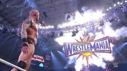 Randy Orton ganó el Royal Rumble 2017 y luchará en Wrestlemania