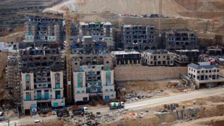 Israel aprueba construir 3,000 viviendas más en colonias de Cisjordania
