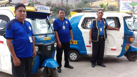 Fotos | Ate presentó este modelo para los taxistas formalizados